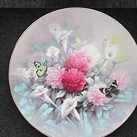 Набор декоративных тарелок.
