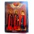Икона Избранные святые: Иоанн, Евдокия и Елена.