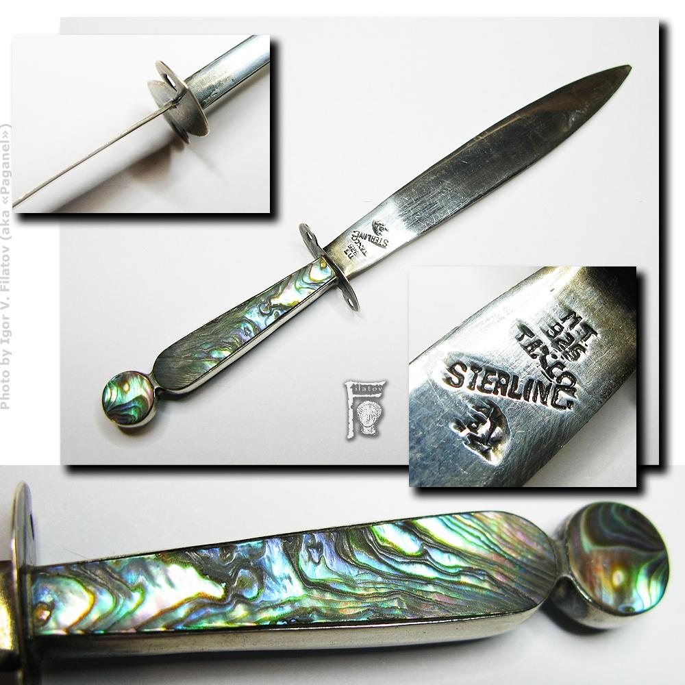 Кабинетный нож для бумаг.
