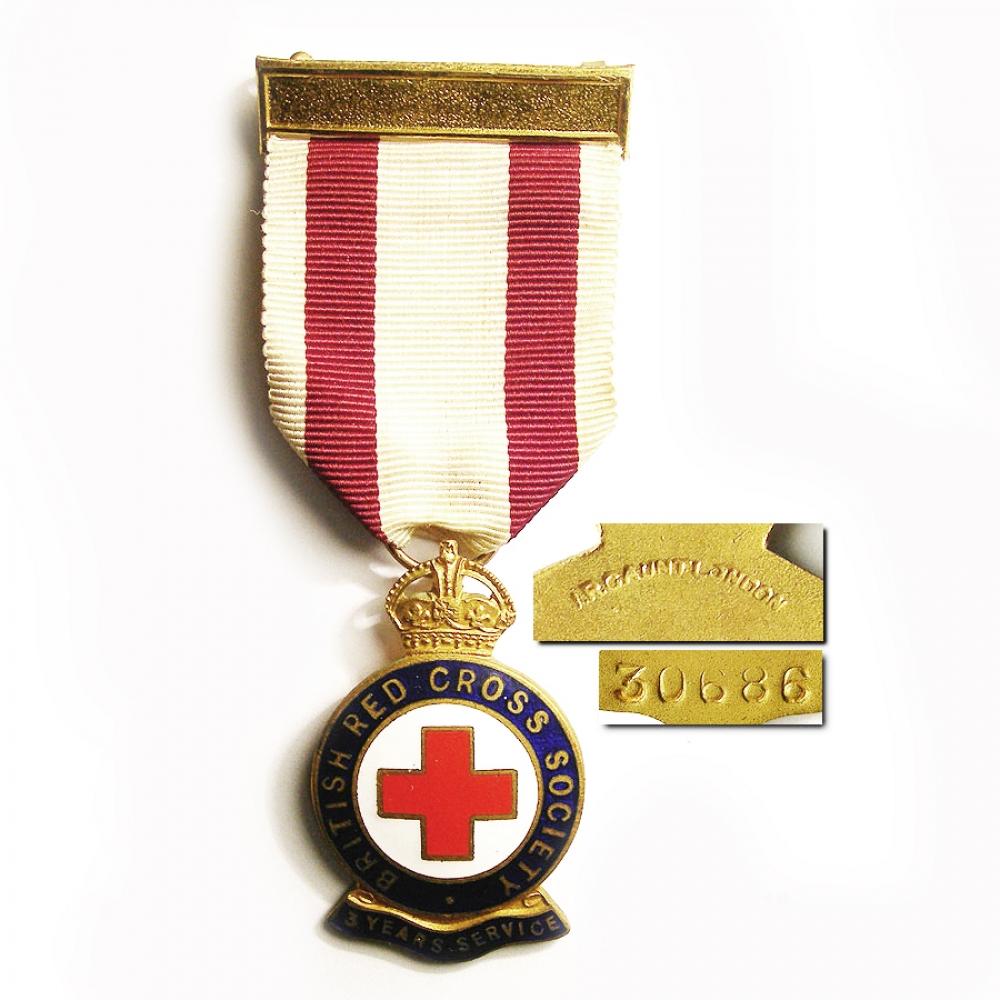 Британская медаль медицинского батальона.