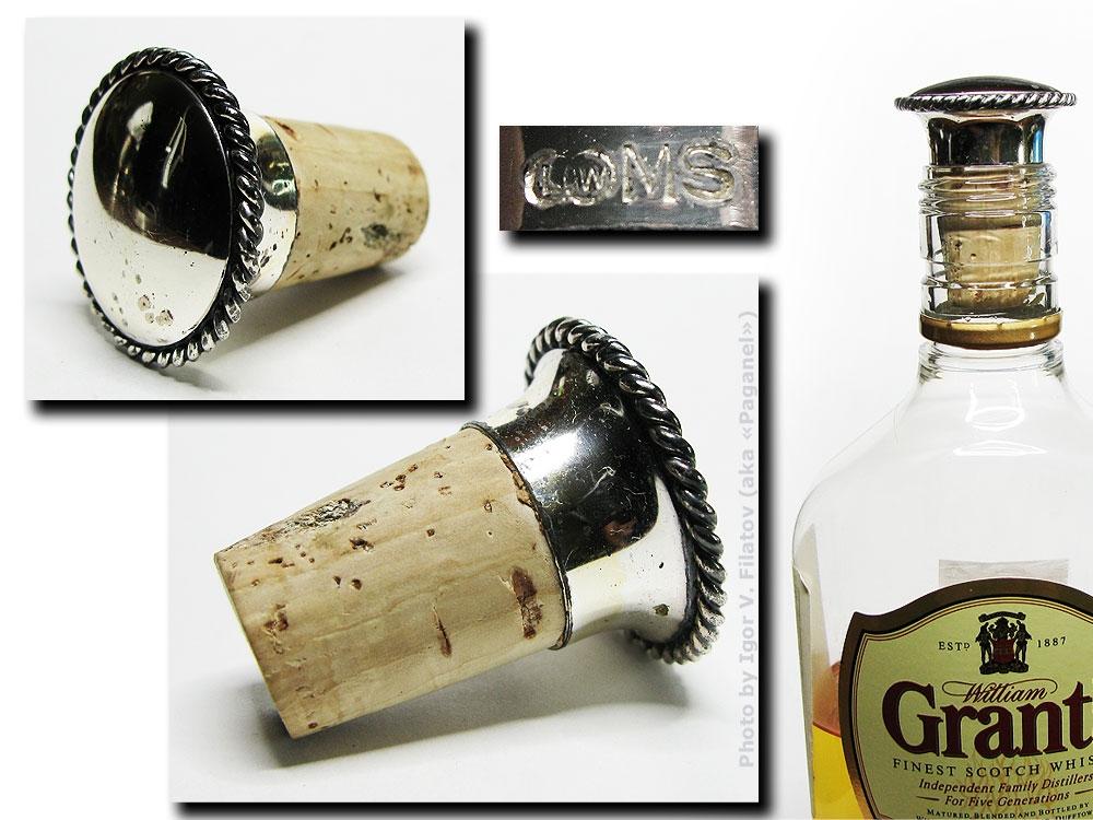 Пробка для бутылки.