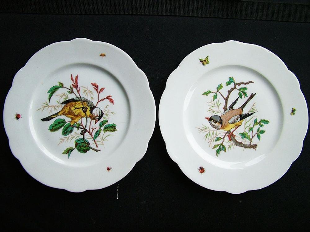 Парные тарелки.