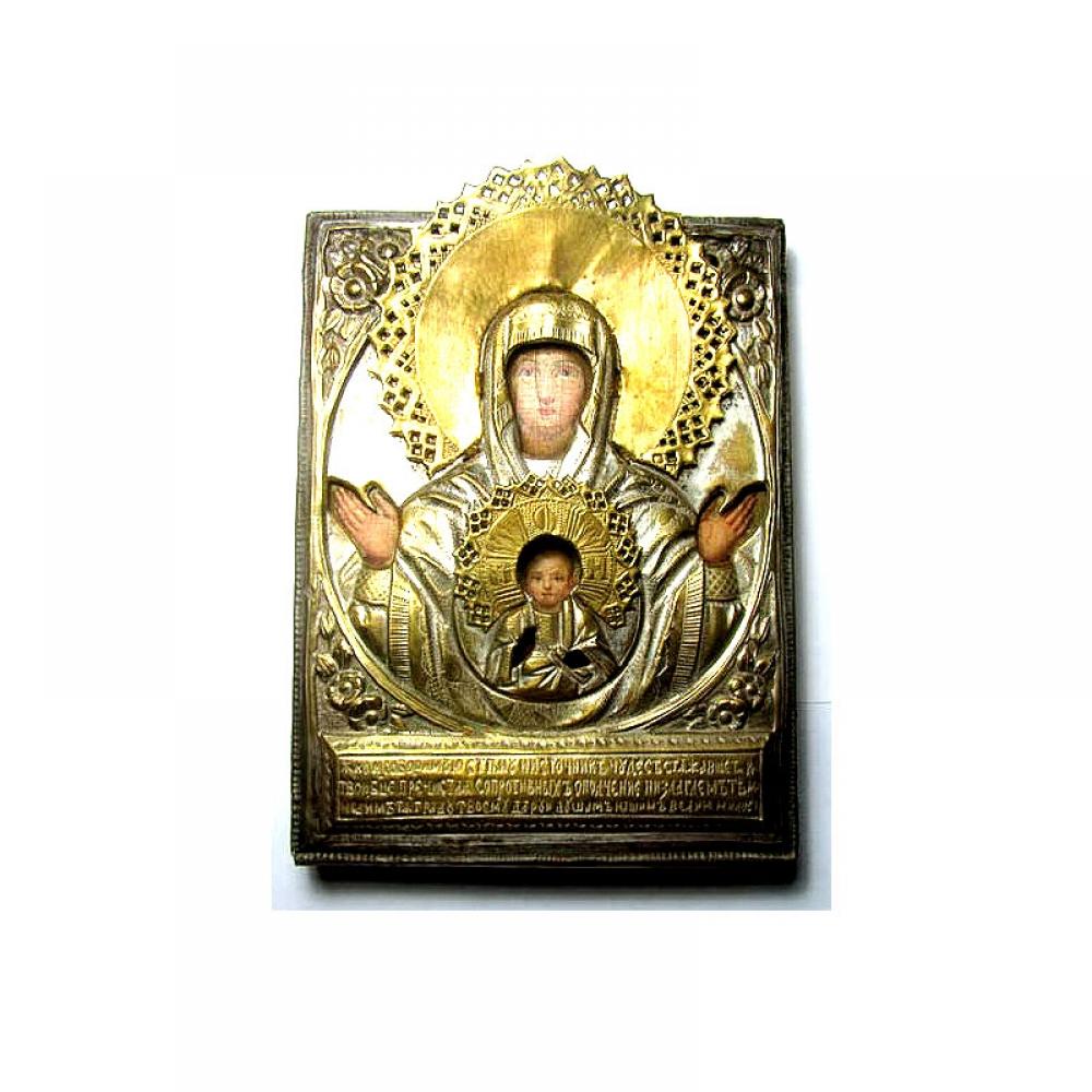 Икона Божией Матери Знамение.